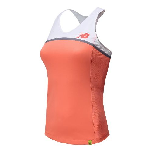 Womens New Balance Tournament Racerback Tank Technical Top - Fiji XL
