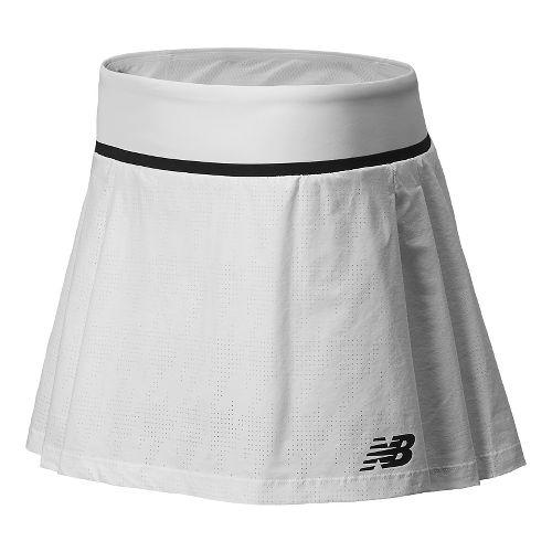 Womens New Balance Tournament Skort Fitness Skirts - White L