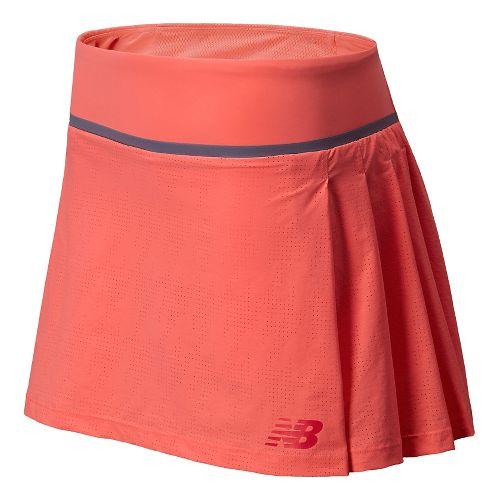 Womens New Balance Tournament Skort Fitness Skirts - Fiji XS