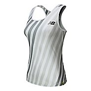 Womens New Balance Challenger Printed Tank Technical Top