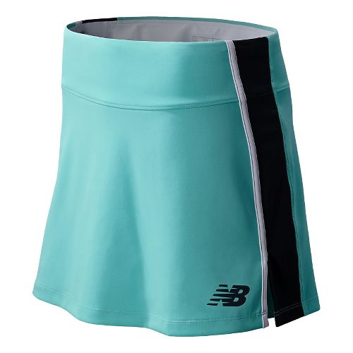 Womens New Balance Challenger Skort Fitness Skirts - Seaspray M