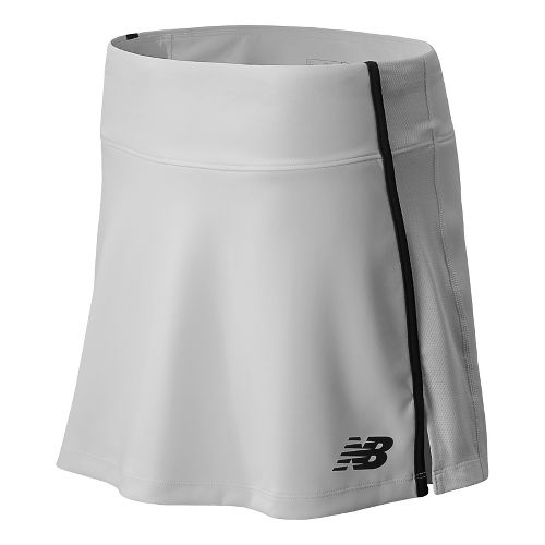 Womens New Balance Challenger Skort Fitness Skirts - White S