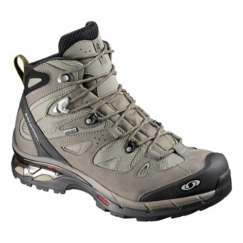 Mens Salomon Comet 3D GTX Hiking Shoe - Swamp/Moss 11