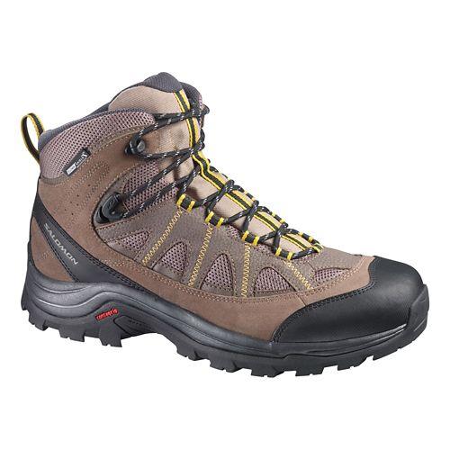 Mens Salomon Authentic LTR CS WP Hiking Shoe - Brown 13.5