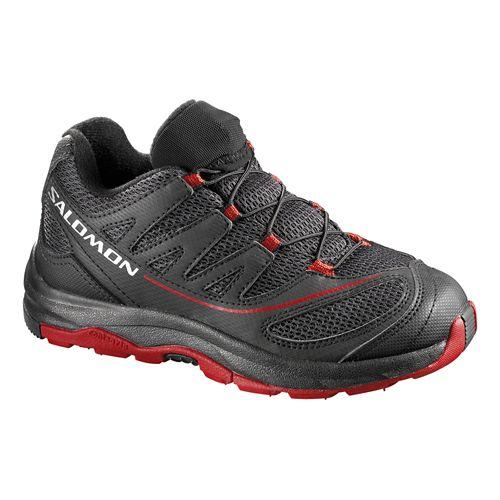 Kids Salomon XA Pro 2 Trail Running Shoe - Purple/Orange 3