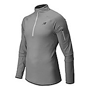 Mens New Balance Ultra Long Sleeve Half Zip Technical Top