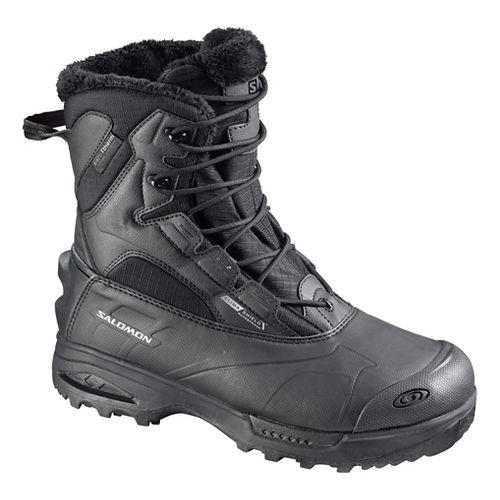 Mens Salomon Toundra Mid WP Hiking Shoe - Black 12
