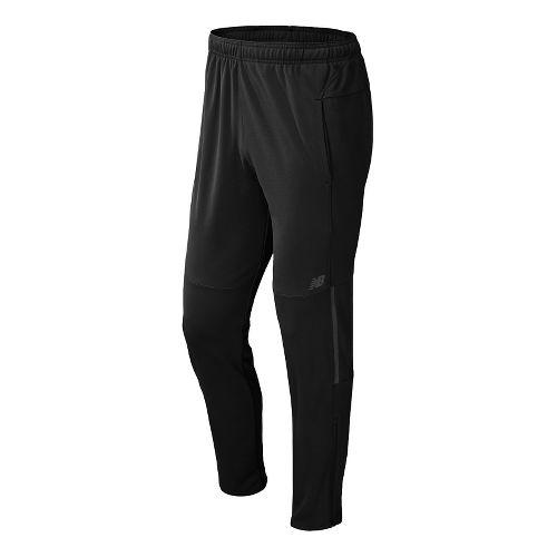 Mens New Balance Gazelle Full Length Pants - Black XXL