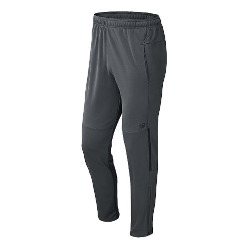 Mens New Balance Gazelle Full Length Pants - Lead XS