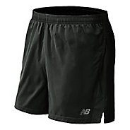 "Mens New Balance Accelerate 5"" Split Shorts"