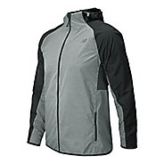 Mens New Balance Surface Run Warm Up Hooded Jackets