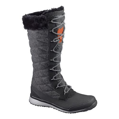 Womens Salomon Hime High Casual Shoe - Black 7