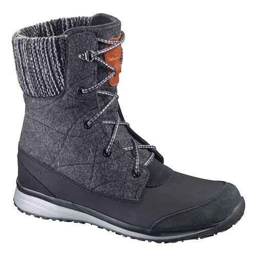 Womens Salomon Hime Mid Casual Shoe - Black 7.5