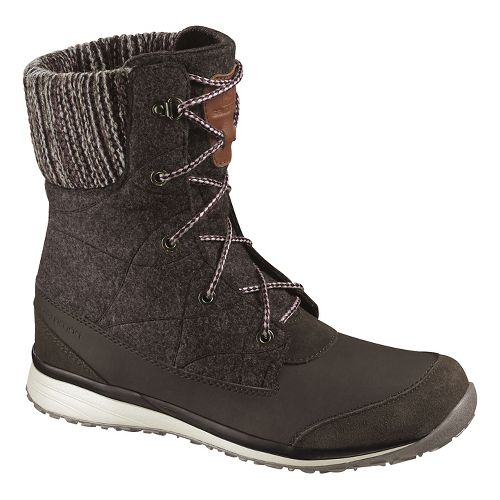 Womens Salomon Hime Mid Casual Shoe - Absolute Brown-X 10