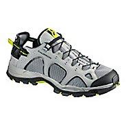 Mens Salomon Techamphibian 3 Hiking Shoe - Black/Acid/Lime 9
