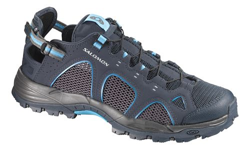 Mens Salomon Techamphibian 3 Hiking Shoe - Deep Blue 8.5