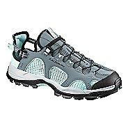 Womens Salomon Techamphibian 3 Hiking Shoe - Blue/Black 9