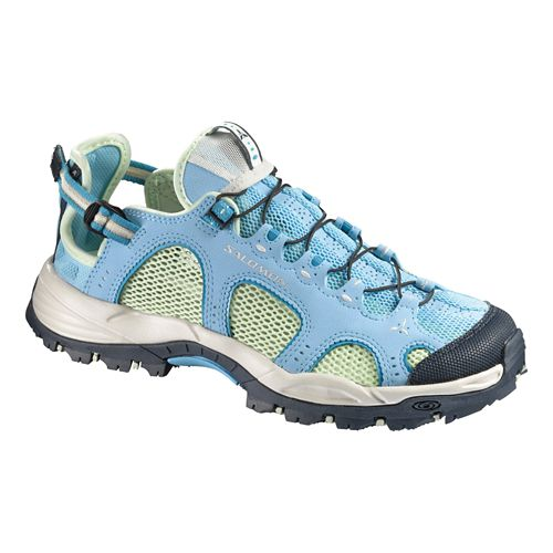 Womens Salomon Techamphibian 3 Hiking Shoe - Score Blue 9.5