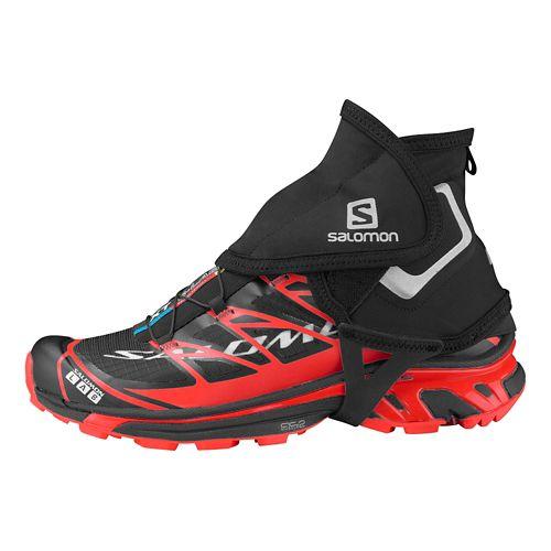 Salomon S-Lab Trail Gaiters High Fitness Equipment - Black S