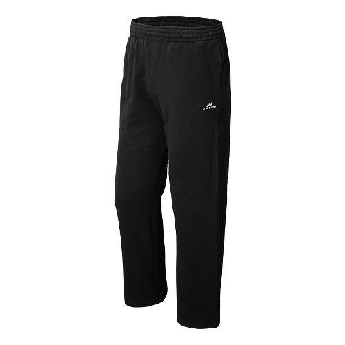 Mens New Balance Essentials Full Length Pants - Heather Charcoal XL