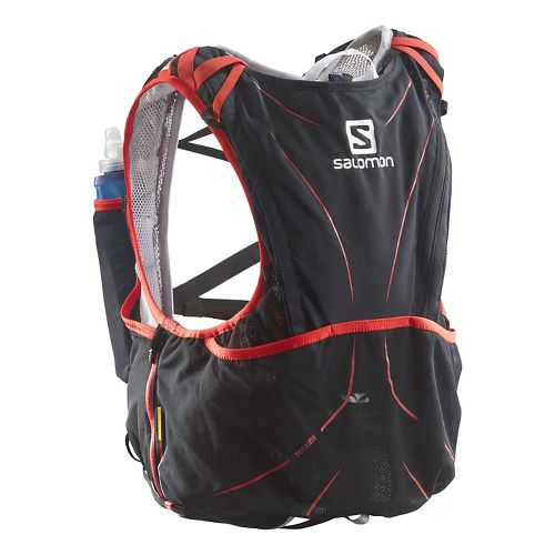 Salomon S-Lab Advanced Skin Hydration 12 Set Hydration - Black/Red M/L