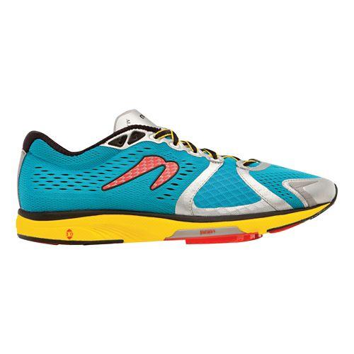 Mens Newton Running Gravity IV Running Shoe - Blue/Red 10.5