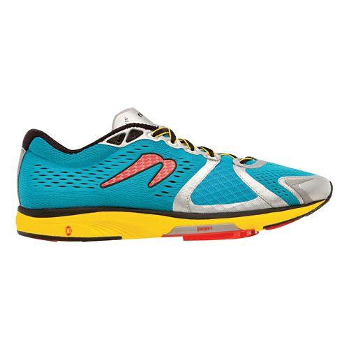 Mens Newton Running Gravity IV Running Shoe - Blue/Red 10.5