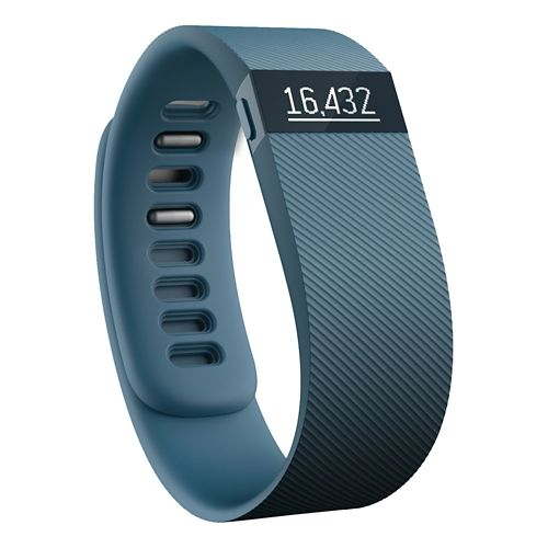 Fitbit Charge Wireless Activity + Sleep Wristband Fitness Tracker Monitors - Black L