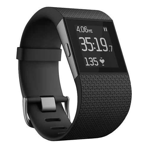 Fitbit Surge Fitness Superwatch Monitors - Black XL