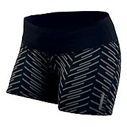 Womens Pearl Izumi Flash Tight Print Shorts
