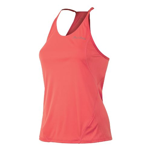 Womens Pearl Izumi Fly Singlet Tank Technical Tops - Living Coral L