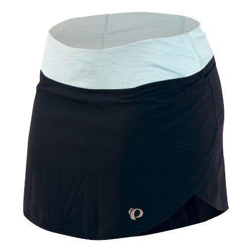 Womens Pearl Izumi Fly Run Fitness Skirts - Black XL