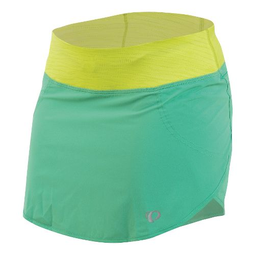 Womens Pearl Izumi Fly Run Fitness Skirts - Gumdrop L