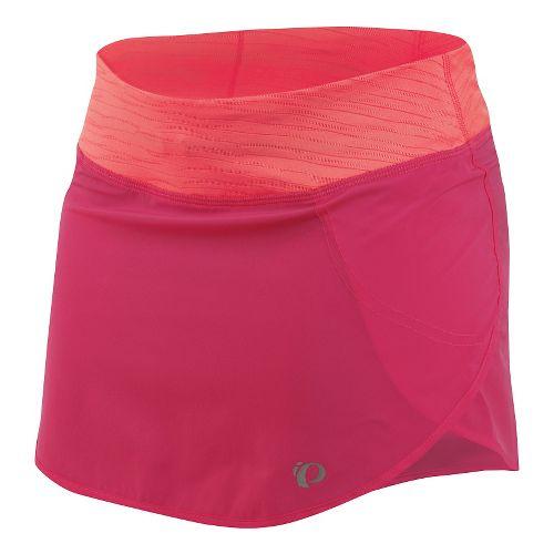 Womens Pearl Izumi Fly Run Fitness Skirts - Honeysuckle XL