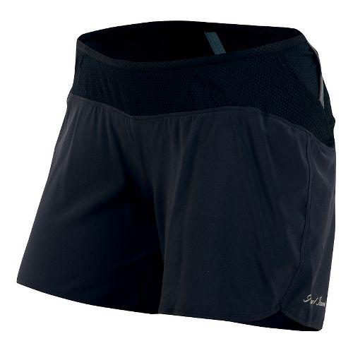 Womens Pearl Izumi Fly Endurance Shorts - Black XL