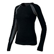 Womens Pearl Izumi Flash Long Sleeve No Zip Technical Tops