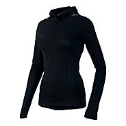 Womens Pearl Izumi Flash Long Sleeve Hooded Technical Tops