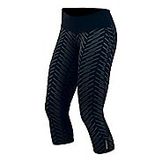 Womens Pearl Izumi Flash 3/4 Print Capri Tights