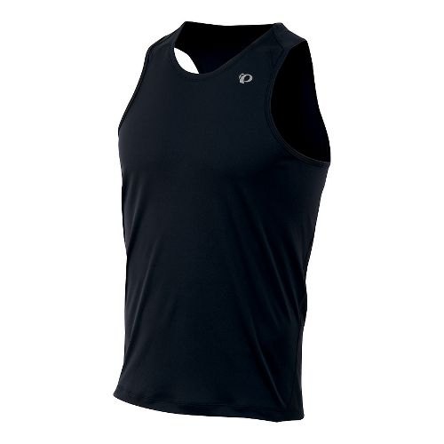 Mens Pearl Izumi Fly Singlet Tank Technical Tops - Mandarin Red M