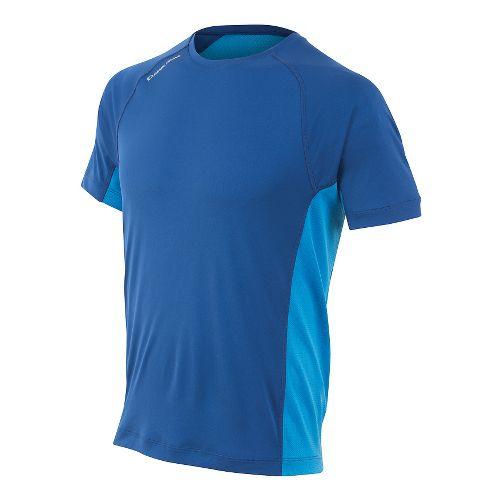 Mens Pearl Izumi Flash Short Sleeve Technical Tops - Limoges/Blue XXL