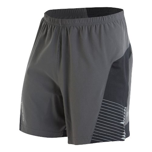 Mens Pearl Izumi Flash Lined Shorts - Shadow Grey XXL