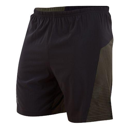 Mens Pearl Izumi Flash Lined Shorts - Shadow Grey/Sulphur XXL