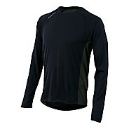 Mens Pearl Izumi Flash Long Sleeve No Zip Technical Tops