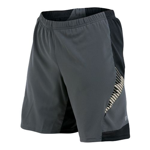 Mens Pearl Izumi Flash 2-in-1 Shorts - Shadow Grey S