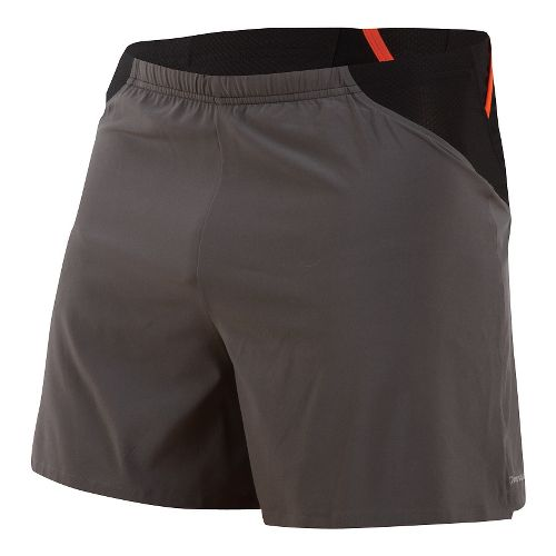 Mens Pearl Izumi Fly Endurance Lined Shorts - Shadow Grey L