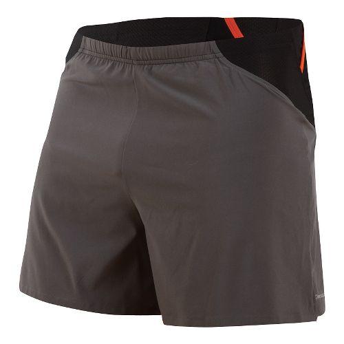 Mens Pearl Izumi Fly Endurance Lined Shorts - Shadow Grey S