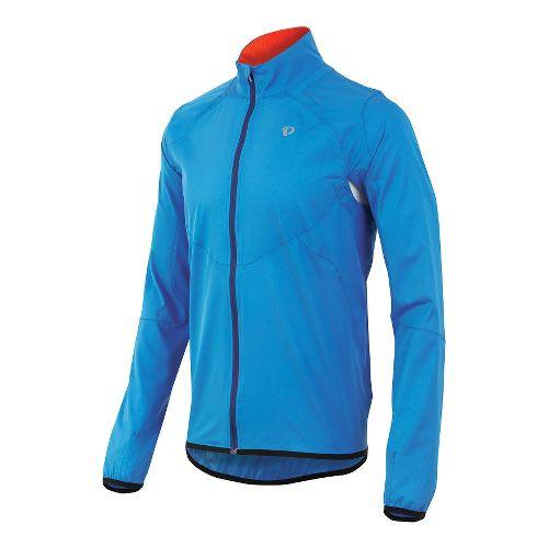 Mens Pearl Izumi Fly Outerwear Jackets - Brilliant Blue L