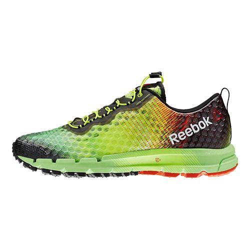 Mens Reebok All Terrain Thunder 2.0 Running Shoe - Neon 8