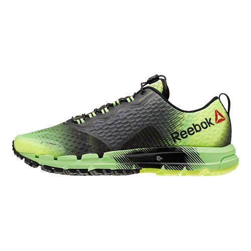 Mens Reebok All Terrain Thunder 2.0 Running Shoe - Green/Black 12