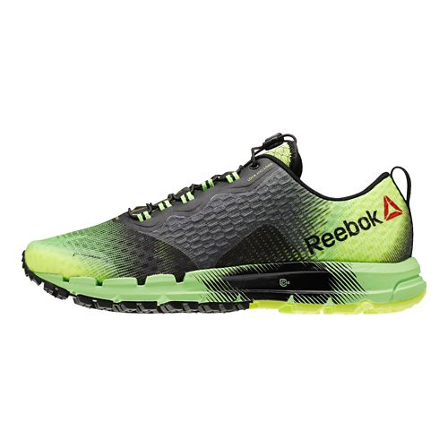 Mens Reebok All Terrain Thunder 2.0 Running Shoe - Green/Black 14